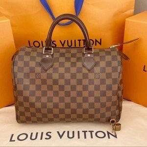 💎✨RARE EBENE✨💎 Louis Vuitton Speedy 30 Damier!